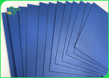 1.3mm 1.5mm 720 * 1020mm Blue Lacquered Solid Paperboard For File Folders