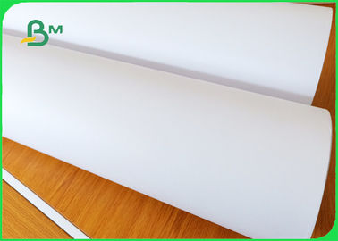 China Width 160cm Smothness 45gr Greyish White Plotter Paper For Clothes supplier
