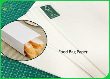 Food Bag Paper 70g 100g 120g Thick Sack White Kraft Paper Virgin 600MM Rolls