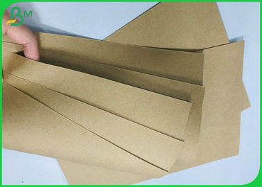 FDA & FSC Approved 350 Gram Pure Kraft Craft Board Disposable Meal Box Material