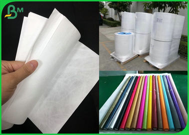 Purely Fabric Waterproof Tyvek Printer Paper Roll For Bag Material