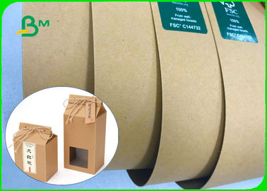 60 * 86cm In Sheet 150gsm - 400gsm Brown Kraft Liner Board For Boxes Or Bags