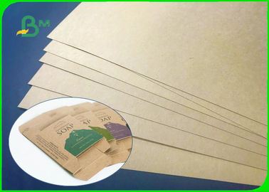 Folding Resistance 200gsm 250gsm 300gsm Kraft Liner Board For Soap Packages