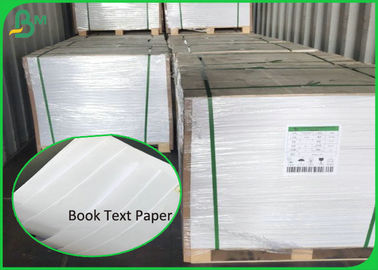 Uncoated Rolling 20LB 22LB 50LB Book Text White Offset Print Paper 90CM 100CM
