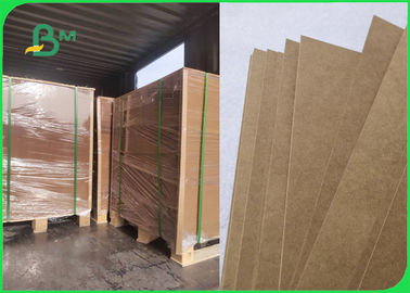 Moisture Proof Eco Brown Kraft Paper For Fast Food Packaging 300gsm 350gsm