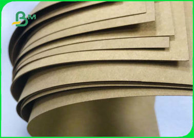 Grade AA 250gsm 300gsm 350gsm Brown Kraft Paper Board For Packing Boxes