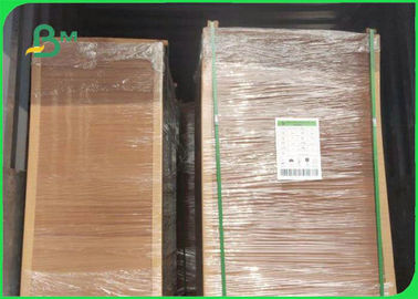 China 250gsm 300gsm 350gsm 70 * 100cm Brown Kraft Board In Sheet For Packaging supplier
