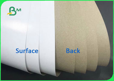 China Good Stiffness 140gsm 170gsm Coated White Top & Uncoated Liner Paper For Cartons supplier