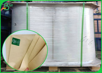 China Paper Food Grade Containers  Natural Kraft Paper 50gram To 400gram Roll supplier