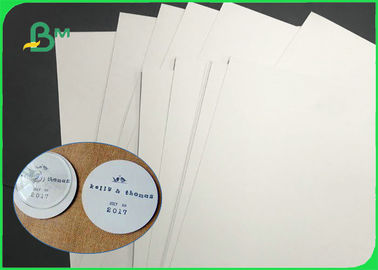 24 * 36 inch 0.4mm 0.6mm Cardboard Paper Roll Super White Absorbent Coaster Paper For Beermat