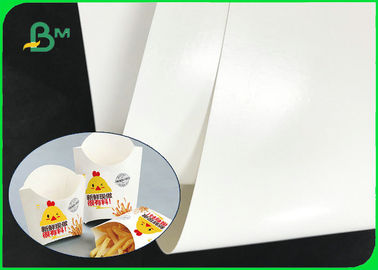 Food Grade 14PT + 15g PE One Side Coated Folding Box Board For Food Packaging