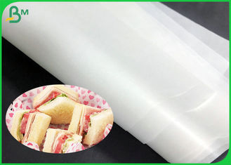 35g 40g 50g Natural MG Machine Glazed Kraft Paper Roll For Meat Packaging