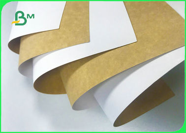 100% Safe 250gsm 325gsm 365gsm Coated Kraft Paper Board For Dry Food Packaging