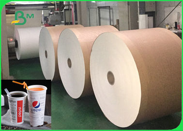 China Heat Resistance 260gsm + 26g PLA Coated Paper For Beverage Cups Food Safety supplier