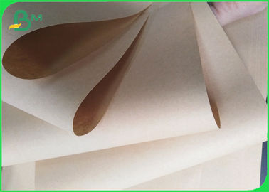 Safety Food Grade Kraft Paper 40 - 80gsm Customized Size For Nuts