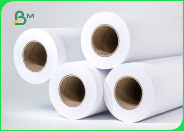 High Whiteness Plotter Marker Paper For Garment Factory 60gsm 70gsm