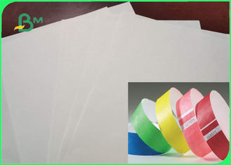 Tear Resistance 1025D 1056D 1057D Colored Tyvek Fabric Paper For Wristbands