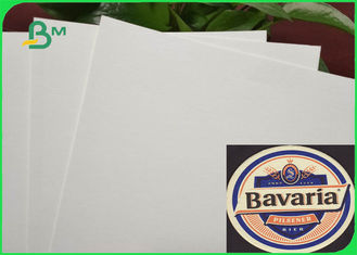 7.5 Inch * 7.5 Inch Skid Resistance Inkjet Printing Blotter Paper For Beer Coasters