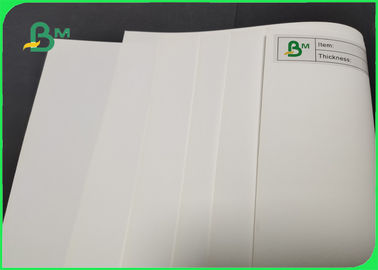 Environmental 120g - 240g White Uncoated Woodfree Paper For Notebook Waterproof
