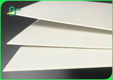 China 61 * 61cm 1.5mm 2.0mm FSC & SGS Duplex Board White Back For Cosmetic Boxes supplier