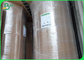 Food Grade 42/45/47gsm Brown Kraft Paper Roll For Packing Bags
