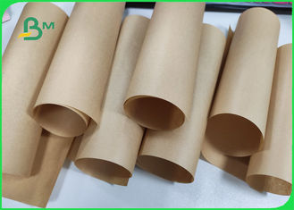 42gsm Virgin Natural Brown Kraft Wrapping Paper For Food Bags
