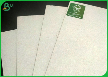 Folding Resistance Card Paper 2 Sides Grey Kraft Board 1500 Micron 945gsm