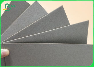 Laminated Grey Chip Board Paper In Sheet For Packing 0.5MM 1.5MM 2MM 2.5MM