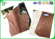 China Tear Resistant And Waterproof 43g - 105g Brown Tyvek Paper In Sheets For Making Bag factory