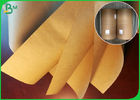 50GSM Greaseproof Food Grade Brown Kraft Paper For Making Popcorn Chicken Cup