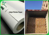 2 & 3 Inch Core 50GSM 80GSM Inkjet Plotter Paper Roll For Garment Drawing