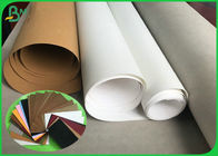 China 0.55mm 0.7mm 0.8mm Silver / Gold washable kraft paper fabric Roll 150cm * 100m company
