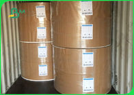 30gsm To 100gsm Food Grade Paper Roll / Environmental Protection White Kraft Paper For Packing