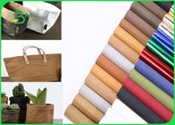 Washable Kraft Paper Natural Fabic Pulp 110 Yard Length 0.7mm 0.8mm