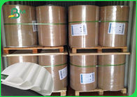 Thickness 30 - 350gsm PE Coated Paper , White Color Kraft Paper In Coils For Various Packing