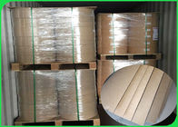 China 300gsm Good Strength High Hardness Brown Kraft Paper For Packing factory