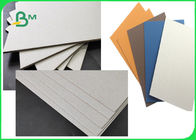 FSC & SGS Approved Colorful Laminated Grey Board Grade AAA / AA With 1MM 1.28MM 2MM 3.2MM