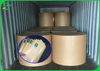 Stable Quality FSC Certificate Brown Kraft Paper Roll With PE Coated