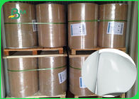 China Shiny Offset Glossy Coated Paper / Couche Paper 90GSM 100GSM Size 90 * 64CM company