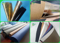 0.3 0.55 0.8mm Wear Resisting Rose Gold Color Washable Kraft Paper For Child Bags