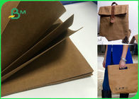 Sewable Tear-resistant Washable Kraft Paper Fabric In Roll Making Bags Wallets