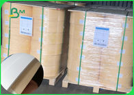 Size 14mm 60gsm white / brown waterproof karft paper for straw wood pulp roll