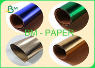 0.55mm Washable Kraft Paper Gold / Rose Gold / Green / Blue For Shiny Bags