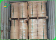 Virgin Wood Pulp 60gsm 120gsm Food Grade Kraft Paper Roll For Straws Making