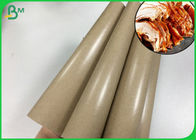 80gsm Oilproof PE Laminated Kraft Paper Reel To Roast Duck Wrapping