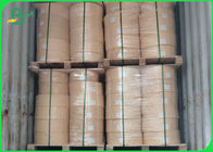Biodegradable Food Grade Paper Roll AA Straw Surface Paper Kraft 60GSM 15MM Printable