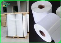 China Tear Resistant Polyethylene PE Coated Paper For Adhesive Sticker Waterproof company