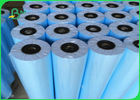 20LB Blue Tinted Bond Paper For Plotter Printers A0 A1 Clear Image Sharpness