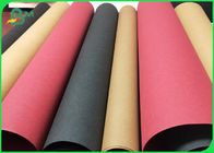 SGS Washable Kraft Paper Environmental Protection Material 150cm Width 0.55mm Thickness