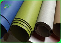 0.3MM 0.55MM 0.7MM Recyclable Colorful Kraft Paper Fabric For Shopping Bags